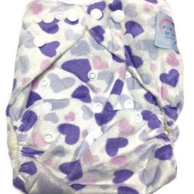 Sweet Tart Bamboo One-Size Pocket Cloth Diaper