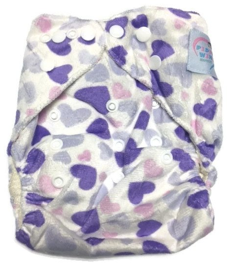 Sweet Tart Bamboo One-Size Pocket Cloth Diaper