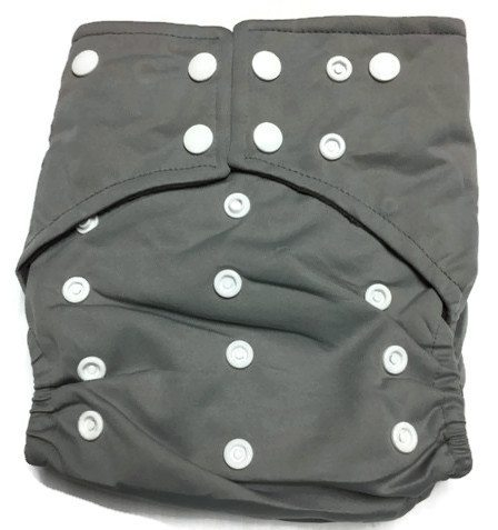 Grey Matters Hybrid Charcoal Bamboo Diaper