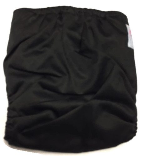 Black Licorice Hybrid Charcoal Bamboo Diaper