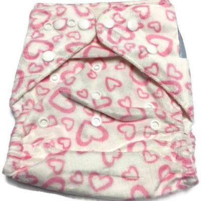 Love Ya To Pieces One Size Polyester Cloth Diaper