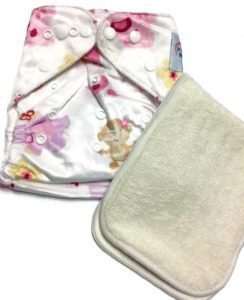 Chickazoo One Size Polyester Cloth Diaper