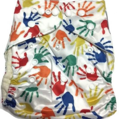 Hands On Bamboo One-Size Pocket Cloth Diaper