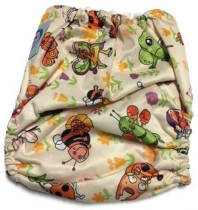 A Fairy's Life Polyester One-Size Pocket Cloth Diaper