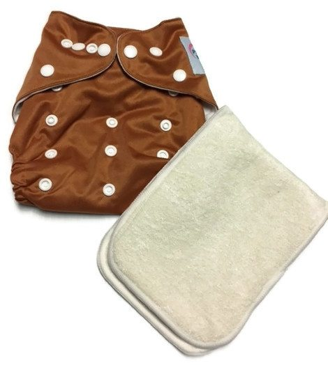 Back At Ya Polyester One-Size Pocket Cloth Diaper