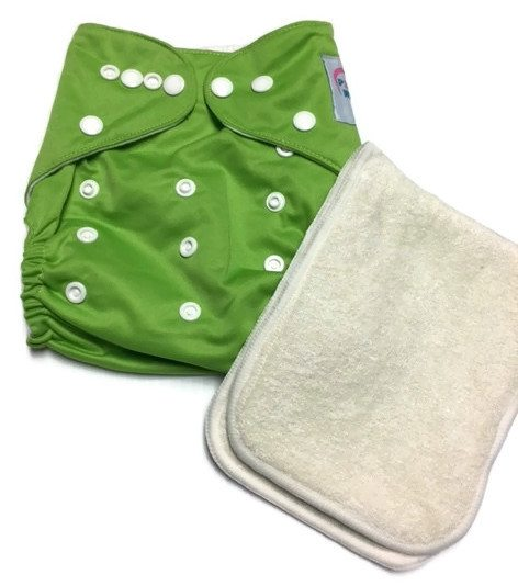 Skaterfly Polyester One-Size Pocket Cloth Diaper