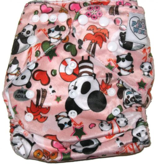 Pandamonium Polyester One-Size Pocket Cloth Diaper