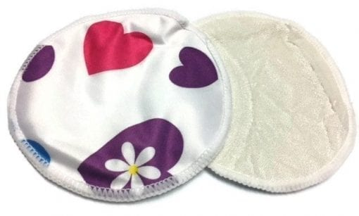 Lots of Love Resuable Bamboo Hemp Breast Pads