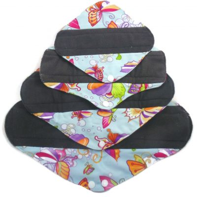 Flutter Fun Charcoal Bamboo Sanitary Pad