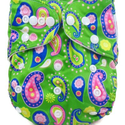 Feathery Delight One Size Polyester Pocket Cloth Diaper