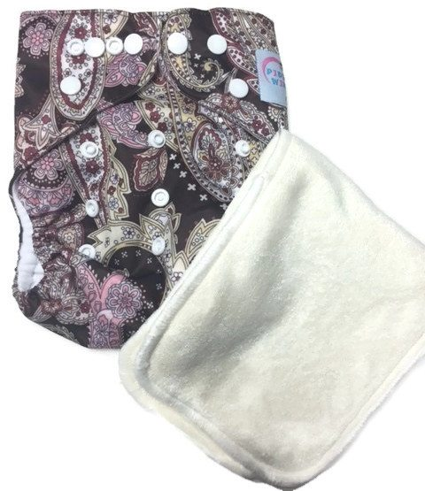 Baby Victoria One Size Fits All Polyester Pocket Cloth Diaper