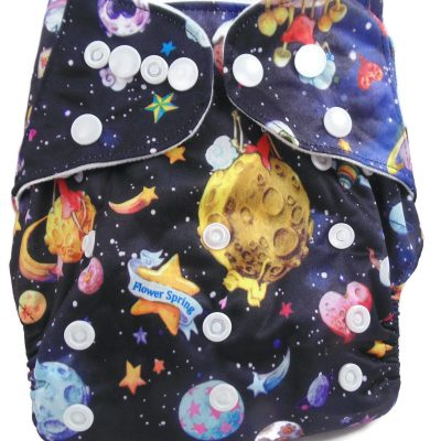 Planetarium One Size Fits All Polyester Pocket Cloth Diaper