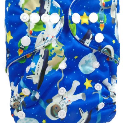 Earth Our Home One Size Fits All Polyester Pocket Cloth Diaper