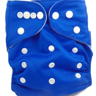 Bumbleberry Blue One Size Fits All Polyester Pocket Cloth Diaper