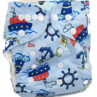 Seafarers One Size Fits All Polyester Pocket Cloth Diaper