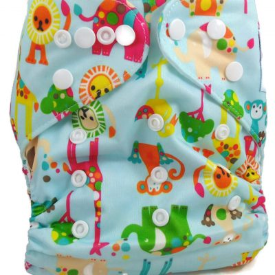 Blue Zoo One Size Fits All Polyester Pocket Cloth Diaper