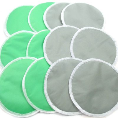 Six Pair Bamboo Breast Pad Bundle