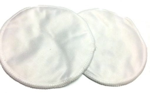 Coconut White Bamboo Breast pads