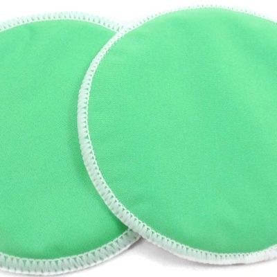 Soft Lime Bamboo Breast Pads