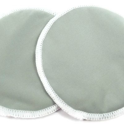 Soft Grey Bamboo Breast Pads