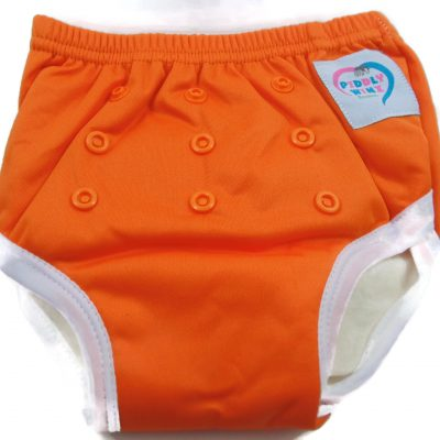 Pumpkin Orange Bamboo Trainer Training Pants