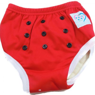 Cherry Red Bamboo Trainer Training Pants