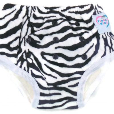 Zebra Print Bamboo Trainer Training Pants