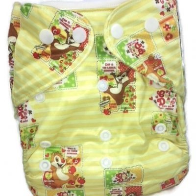 Chip And Dale Polyester Cloth Diaper