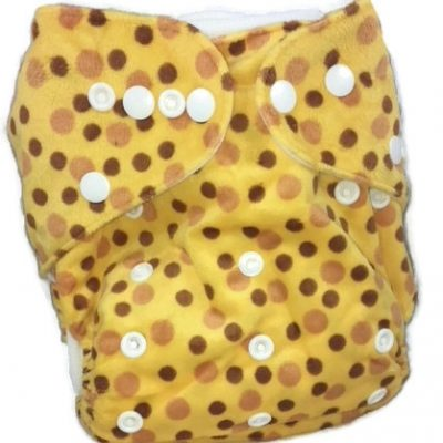 Yellow Speckled Egg One Size Cloth Diaper