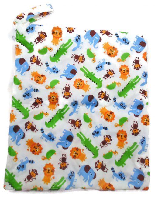Animal Safari Antibacterial Wet Dry Bag