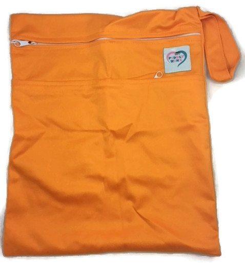 Pumpkin Orange Antibacterial Wet Dry Bag