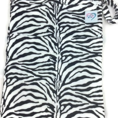 Zebra Print Antibacterial Wet Dry Bag