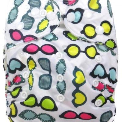 Summer Fun Bamboo Pocket Cloth Diaper