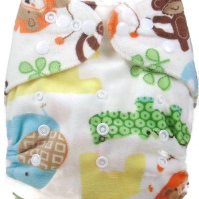 Lioning Around Bamboo Pocket Cloth Diaper