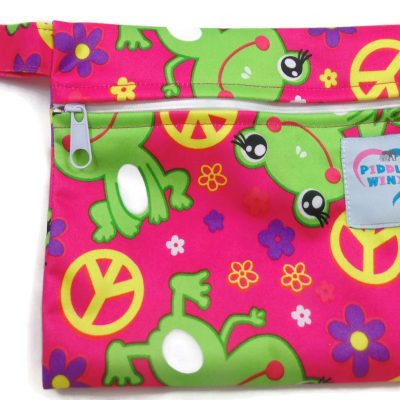 Peaceful Froggy Mini Wet Bag