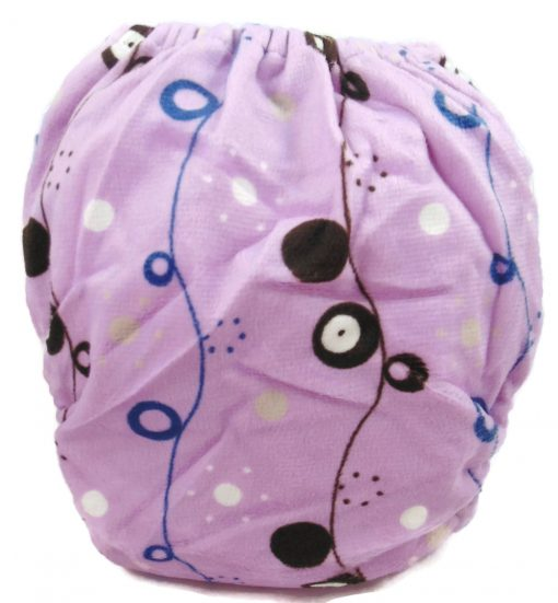 Pink Lace Polyester Pocket Cloth Diaper