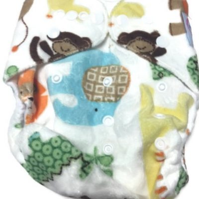 Lioning Around Polyester Pocket Cloth Diaper
