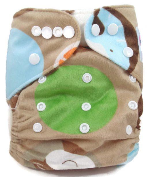 Circle of Life Polyester Pocket Cloth Diaper