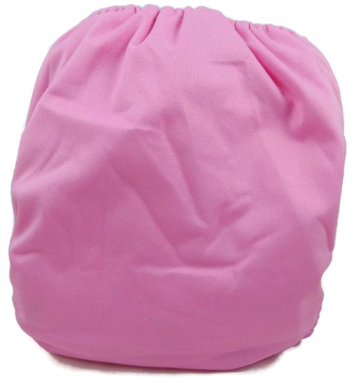 Bubblegum Pink Polyester Pocket Cloth Diaper