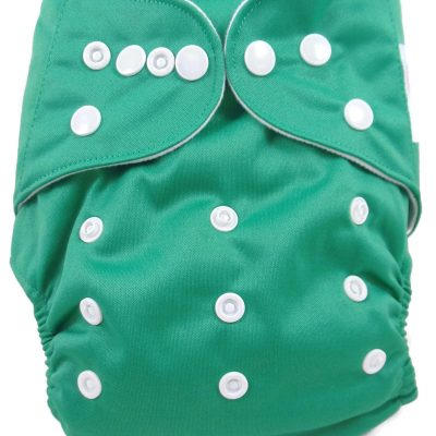 Pine Green Polyester Pocket Cloth Diaper