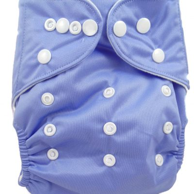 Polished Lavender Polyester Pocket Cloth Diaper