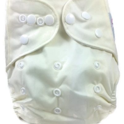 French Vanilla Polyester Pocket Cloth Diaper