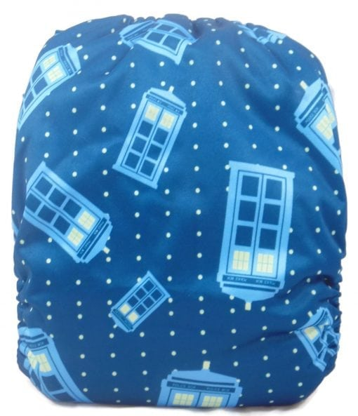 Dr. Who Bamboo Pocket Cloth Diaper