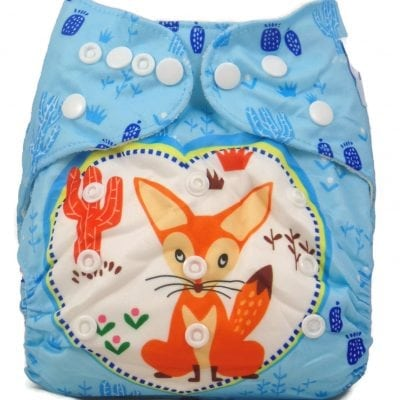 Sleepy Fox Bamboo Pocket Cloth Diaper