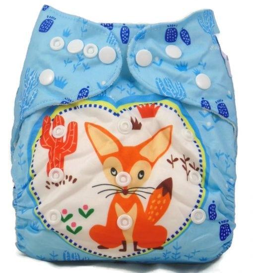 Sleepy Fox Bamboo Pocket Cloth Diaper