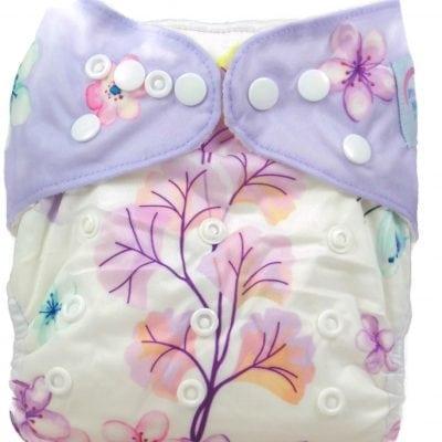 Cherry Blossoms Bamboo Pocket Cloth Diaper