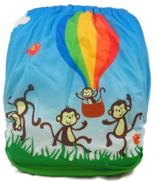 Balloon Ride Bamboo Pocket Cloth Diaper