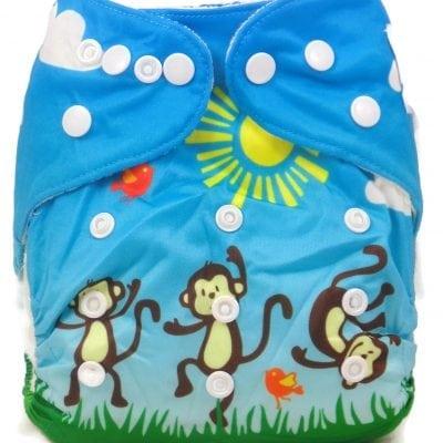 Balloon Ride Bamboo Pocket Cloth Diaper