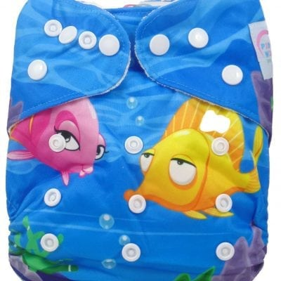Under The Sea Bamboo Pocket Cloth Diaper