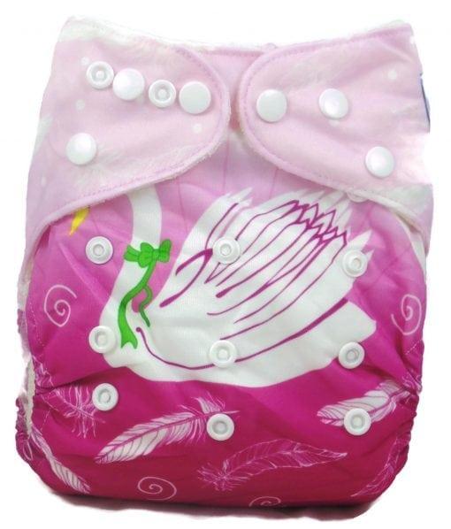 Swan Princess Bamboo Pocket Cloth Diaper